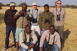 The atlassing team Back - Joseph Moema, David Letsoalo, Joe Grosel, Lucas Lekoto & Charles Hardy. Front - Paul Nkhumane & Samson Mulaudzi